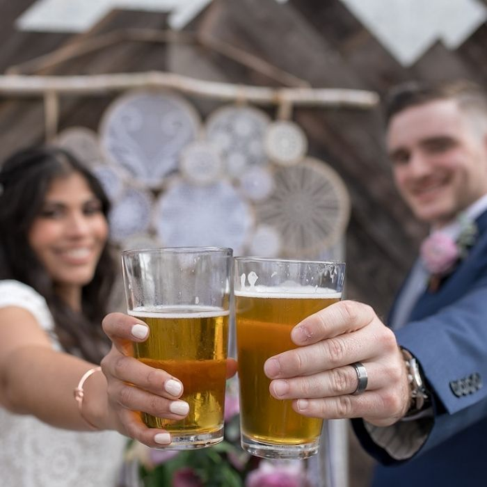 Carretto birra matrimonio Roma