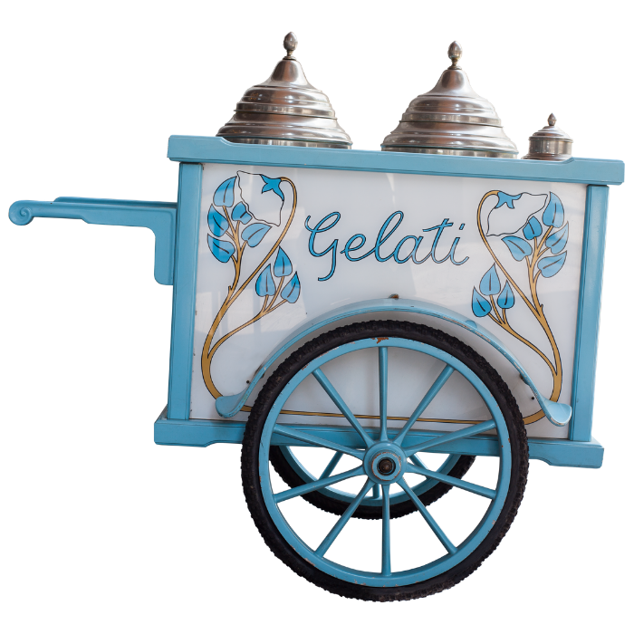 Carretto gelati matrimonio