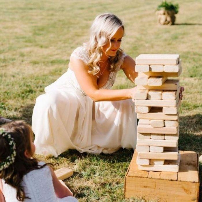 Giochi vintage giganti matrimonio