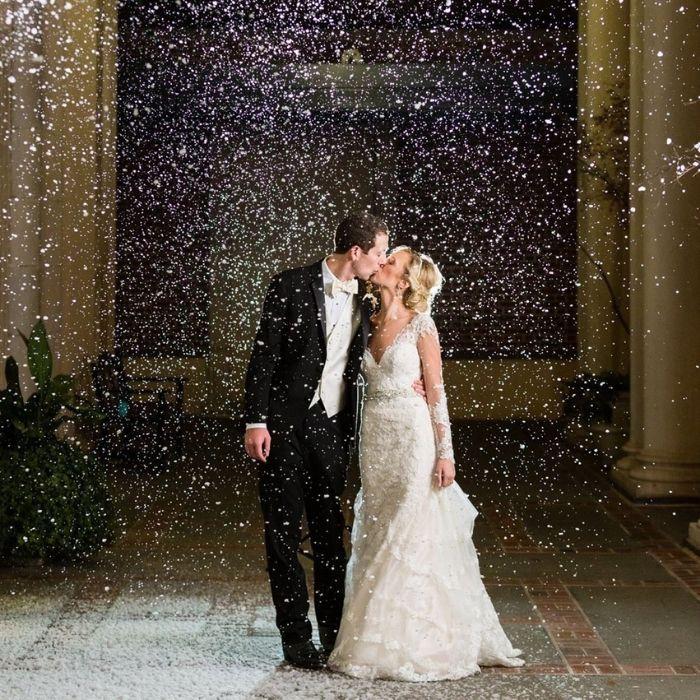 effetti speciali matrimonio - effetto neve