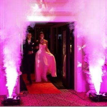 Effetti speciali matrimonio - effetto geyser