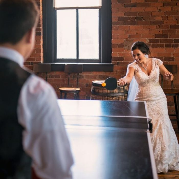 Ping pong matrimonio