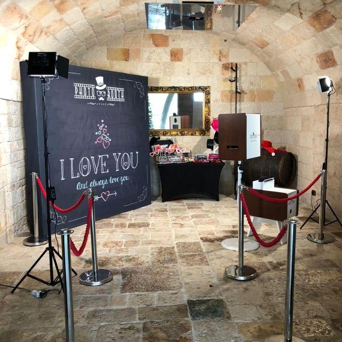 Photo booth matrimonio Roma