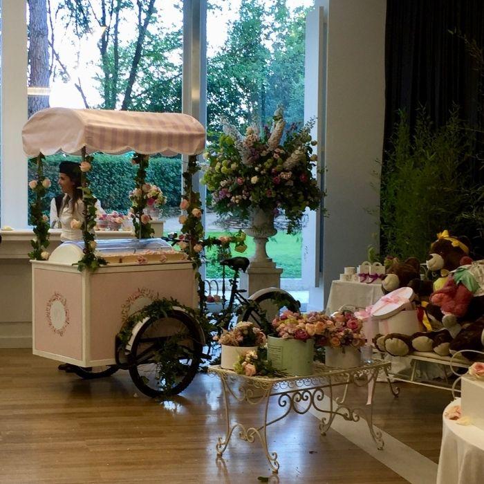 Carretto gelati personalizzato matrimonio