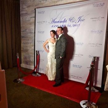 Photo booth red carpet matrimonio
