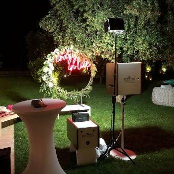 Photo booth a tema matrimonio