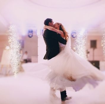 Effetti scenografici matrimonio