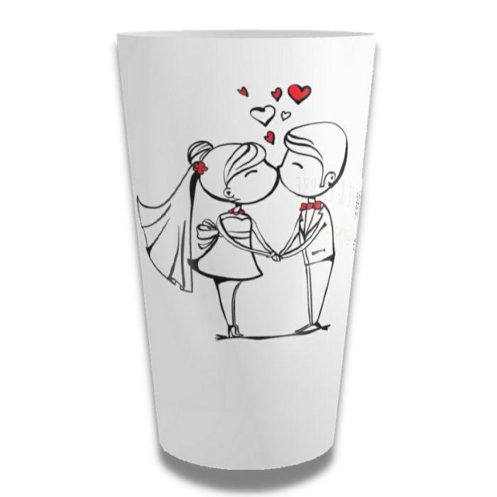 Bicchiere personalizzato matrimonio
