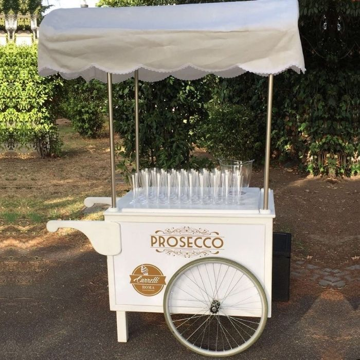 Carretto prosecco matrimonio